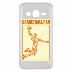 Чохол для Samsung J2 2015 Basketball fan
