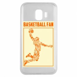 Чохол для Samsung J2 2018 Basketball fan