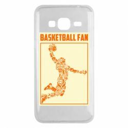 Чохол для Samsung J3 2016 Basketball fan