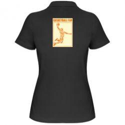 Жіноча футболка поло Basketball fan
