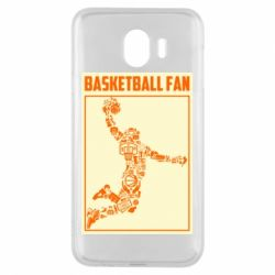Чохол для Samsung J4 Basketball fan