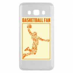Чохол для Samsung J5 2016 Basketball fan