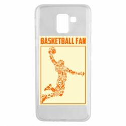 Чохол для Samsung J6 Basketball fan