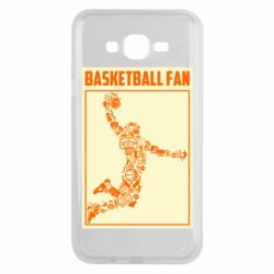 Чохол для Samsung J7 2015 Basketball fan