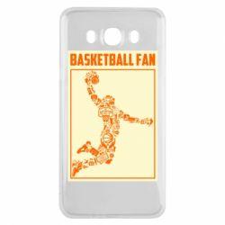 Чохол для Samsung J7 2016 Basketball fan