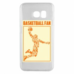 Чохол для Samsung S6 EDGE Basketball fan
