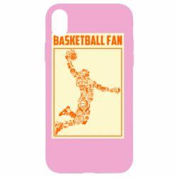 Чохол для iPhone XR Basketball fan