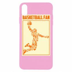 Чохол для iPhone Xs Max Basketball fan