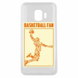 Чохол для Samsung J2 Core Basketball fan