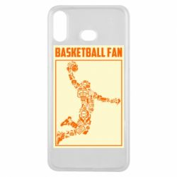 Чохол для Samsung A6s Basketball fan