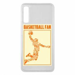 Чохол для Samsung A7 2018 Basketball fan