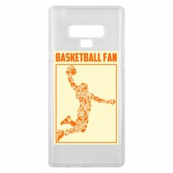 Чохол для Samsung Note 9 Basketball fan