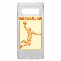Чохол для Samsung S10+ Basketball fan