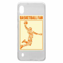 Чохол для Samsung A10 Basketball fan
