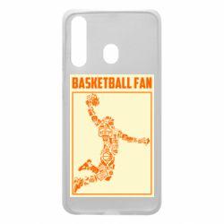 Чохол для Samsung A60 Basketball fan
