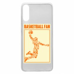 Чохол для Samsung A70 Basketball fan
