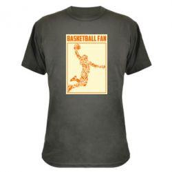Камуфляжна футболка Basketball fan
