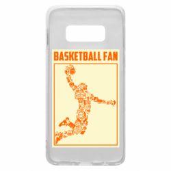 Чохол для Samsung S10e Basketball fan
