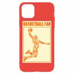 Чохол для iPhone 11 Basketball fan