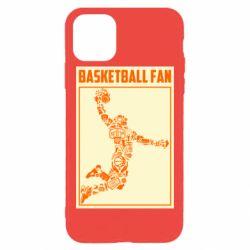 Чохол для iPhone 11 Pro Max Basketball fan