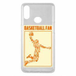 Чохол для Samsung A10s Basketball fan