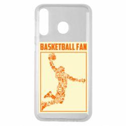 Чохол для Samsung M30 Basketball fan