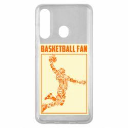 Чохол для Samsung M40 Basketball fan