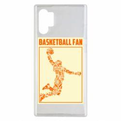 Чохол для Samsung Note 10 Plus Basketball fan