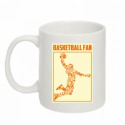 Кружка 320ml Basketball fan