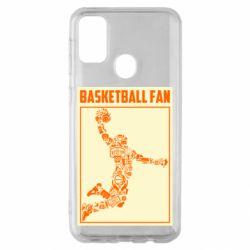 Чохол для Samsung M30s Basketball fan