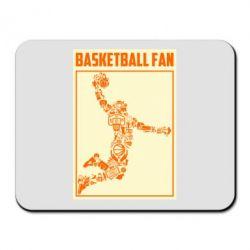 Килимок для миші Basketball fan