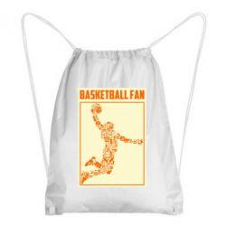 Рюкзак-мішок Basketball fan
