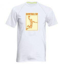 Чоловіча спортивна футболка Basketball fan