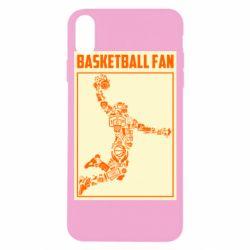 Чохол для iPhone X/Xs Basketball fan