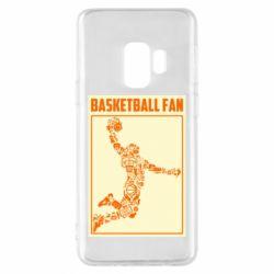 Чохол для Samsung S9 Basketball fan