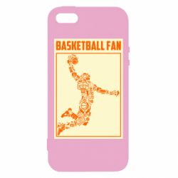 Чохол для iphone 5/5S/SE Basketball fan