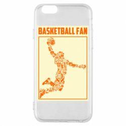 Чохол для iPhone 6/6S Basketball fan