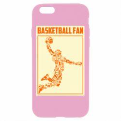 Чохол для iPhone 6 Plus/6S Plus Basketball fan