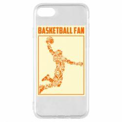 Чохол для iPhone 7 Basketball fan