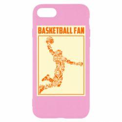 Чохол для iPhone 8 Basketball fan