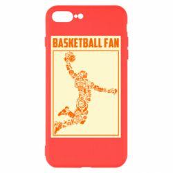 Чохол для iPhone 8 Plus Basketball fan