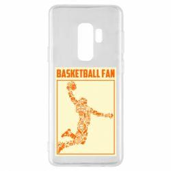 Чохол для Samsung S9+ Basketball fan