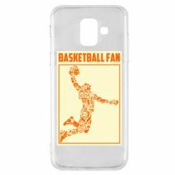 Чохол для Samsung A6 2018 Basketball fan