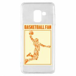 Чохол для Samsung A8 2018 Basketball fan