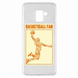 Чохол для Samsung A8+ 2018 Basketball fan