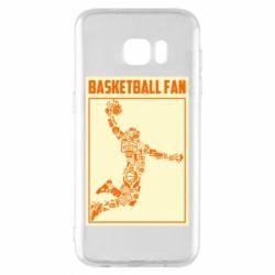 Чохол для Samsung S7 EDGE Basketball fan