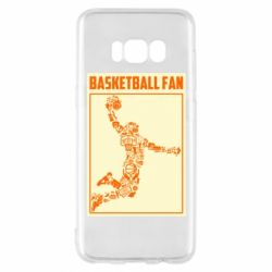 Чохол для Samsung S8 Basketball fan