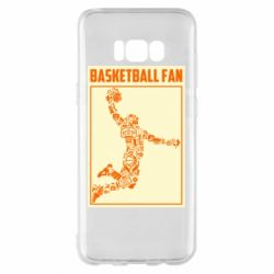 Чохол для Samsung S8+ Basketball fan