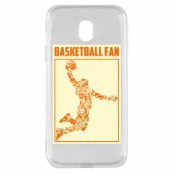 Чохол для Samsung J3 2017 Basketball fan