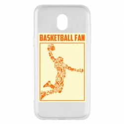 Чохол для Samsung J5 2017 Basketball fan